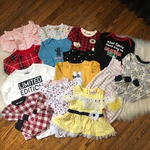 Baby Girl Kid Clothing Outfit One Piece Onesie Lot